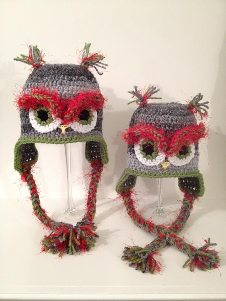 Christmas Owl Hats